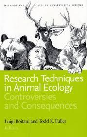 Research Techniques in Animal Ecology - Luigi Boitani